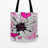 Twin Love Tote Bag