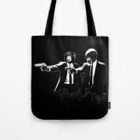 Divine Monkey Intervention Tote Bag