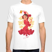 España Mens Fitted Tee White SMALL