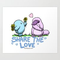 Share the Love Art Print