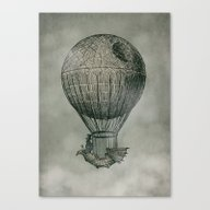 Dark Voyage Canvas Print