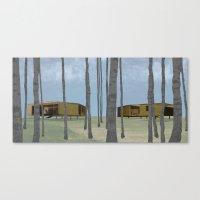Wood Pavilion Canvas Print