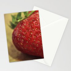 Strawberry Stationery Cards