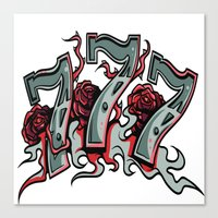 777 Canvas Print