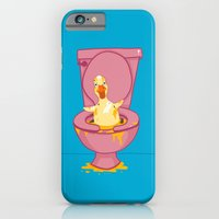 iPhone & iPod Case featuring Toilet Duckling by Chris Piascik