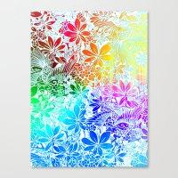 Flying Through Rainbows Canvas Print