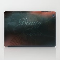 Beauty in the Darkness iPad Case