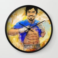 Manny Pacquiao - Pound 4… Wall Clock