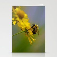 Bumbling Around Stationery Cards