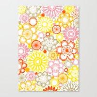 BOLD & BEAUTIFUL Sunshin… Canvas Print
