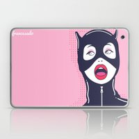 Cat Woman Laptop & iPad Skin