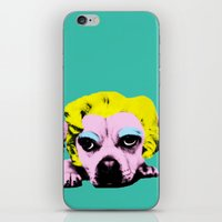 Puppy Marilyn iPhone & iPod Skin