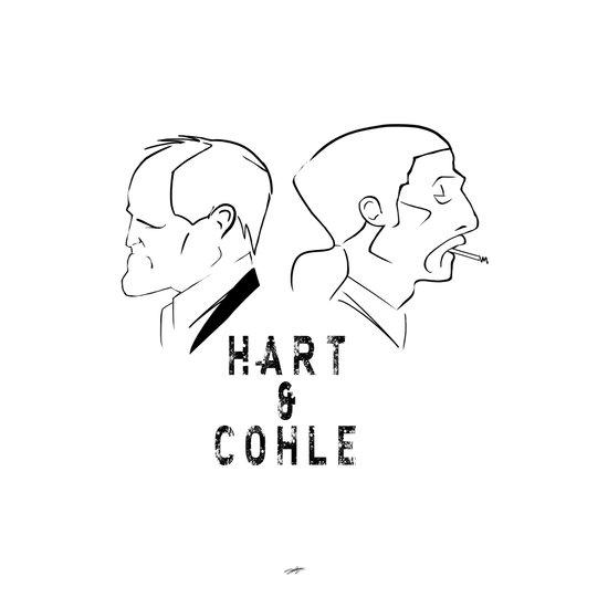 Hart & Cohle 2012 Art Print