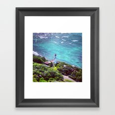 It's Always Oursleves We Find In The Sea Framed Art Print