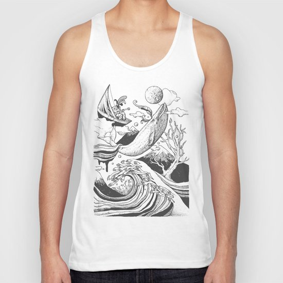 Deep and Blue Unisex Tank Top