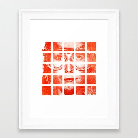 Ac.17 As.2 An.2 Cl.2 Kh.2 Framed Art Print