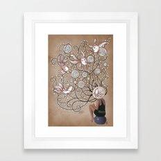 Mindblown. (fishbowl) Framed Art Print