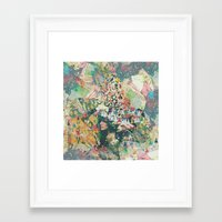 Lost in I'm-So-Indie Space Framed Art Print