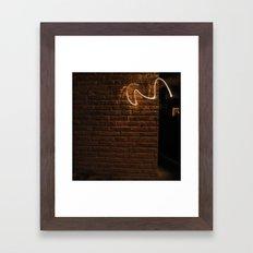L! Framed Art Print