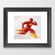 Speed V.2 Framed Art Print