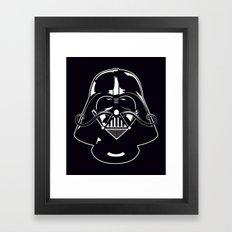 V for Vader Framed Art Print