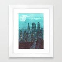 To The City Framed Art Print