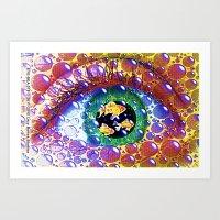 Eye-Sea 075 Art Print