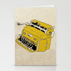 Grunge Typewriter Stationery Cards