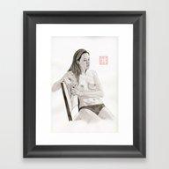Figure Study Number 3 Framed Art Print