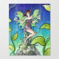 The fairy Canvas Print