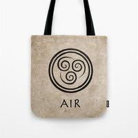 Avatar Last Airbender - Air Tote Bag