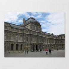 Louvre Museum, Paris Canvas Print