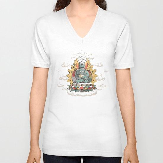 Buddha Bot v6  V-neck T-shirt