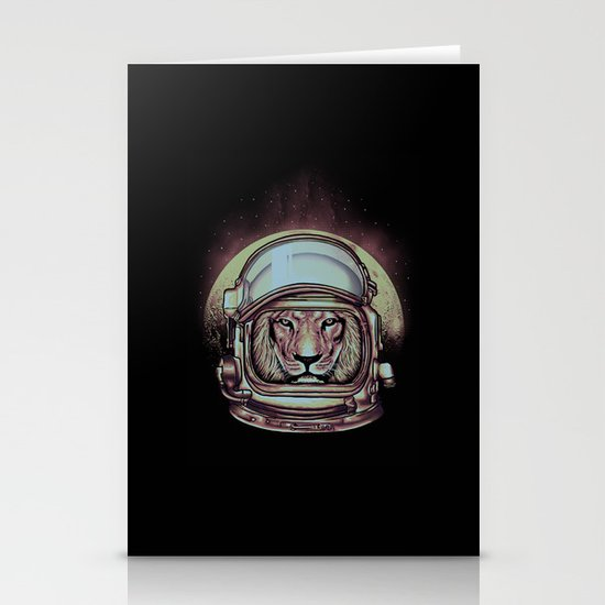 Fly Me To The Moon Stationery Card