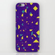 TronGeometric iPhone & iPod Skin
