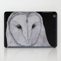 Barn Owl Pencil iPad Case