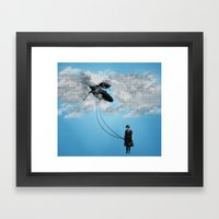 Defying Gravity Framed Art Print