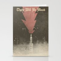There will be blood - Alternative Movie Poster Stationery Cards