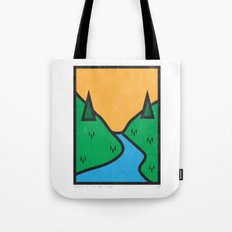 Nature Is My True Home Tote Bag