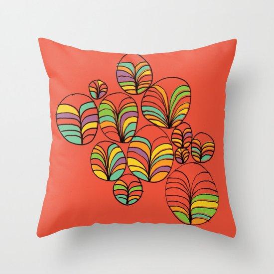Garden Bay Throw Pillow
