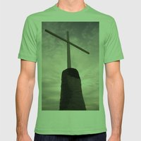 Look To Me Mens Fitted Tee Grass SMALL