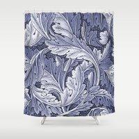 Acanthus Nouveau Style I… Shower Curtain