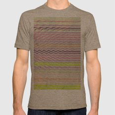 Paint Me Pretty Mens Fitted Tee Tri-Coffee SMALL