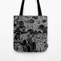 Oodles Of Doodles Of Sin… Tote Bag