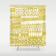 Golden Doodle Oooohh Shower Curtain