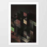 Th' Cyge Art Print