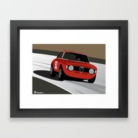 Magnificent Giulia Framed Art Print