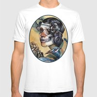 Queen of Indulgence  Mens Fitted Tee White SMALL