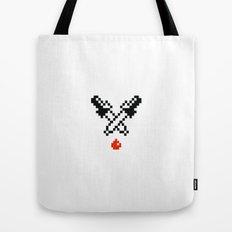 eyedropper bloody Tote Bag