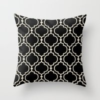Trellis Patter II Throw Pillow